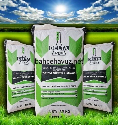 Delta Organik Demir 20 kg