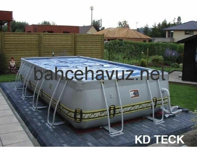 Prefabrik Bahçe Havuzu