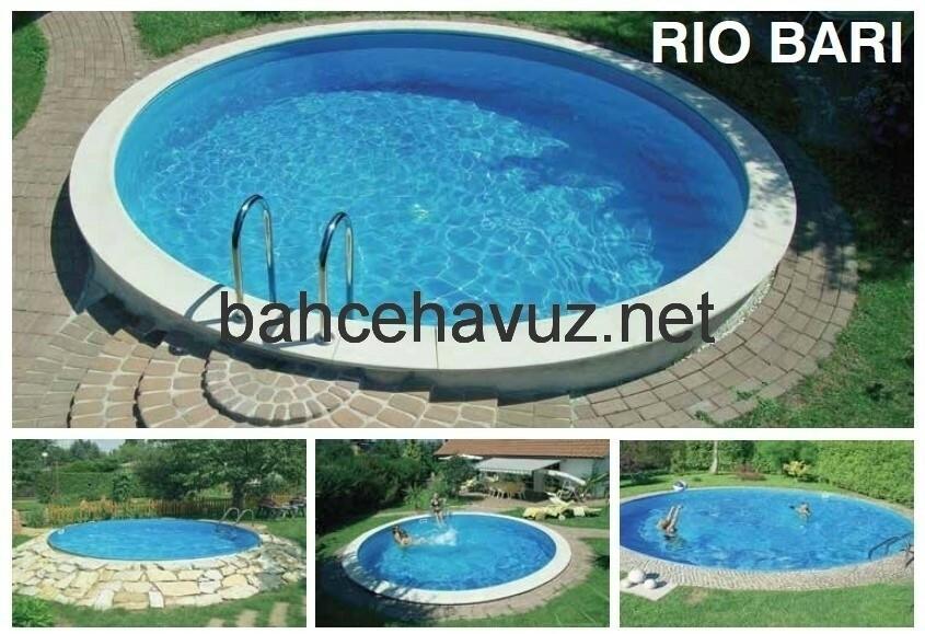 Prefabrik Havuz Rio Bari