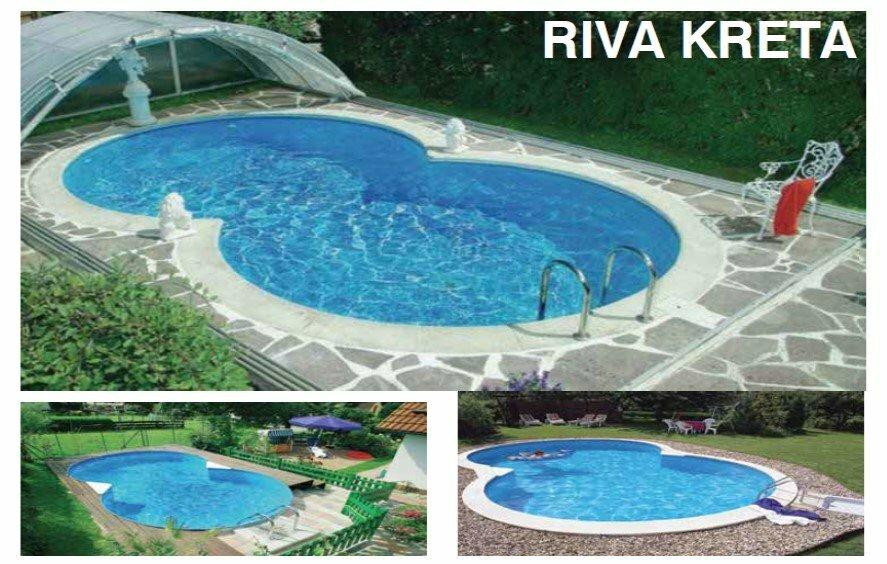 Prefabrik Havuz Riva Kreta