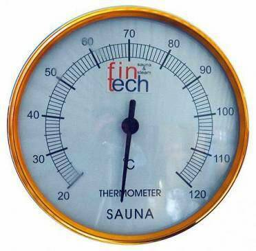 Plastik Sauna Termometresi