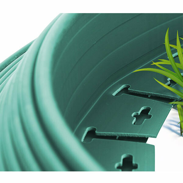 Plastik Çim Sınırlayıcı Esnek Yeşil 20 m 1