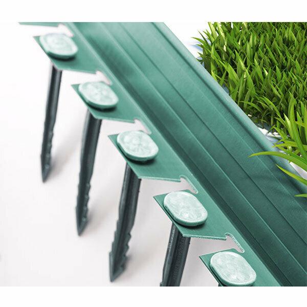 Plastik Çim Sınırlayıcı Esnek Yeşil