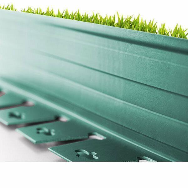 Plastik Çim Sınırlayıcı Esnek Yeşil 20 m 3