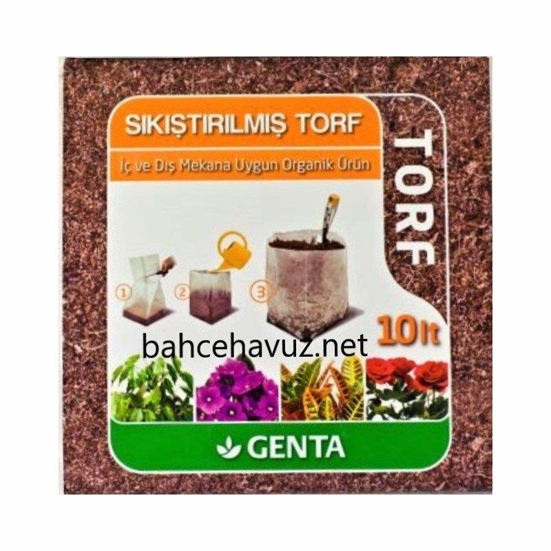 Genta Sıkıştırılmış Torf 10 lt