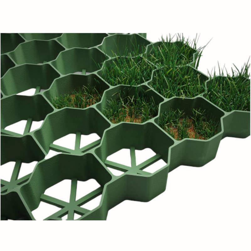 Çim Korucuyu Hücresel Zemin Izgarası 1 m2
