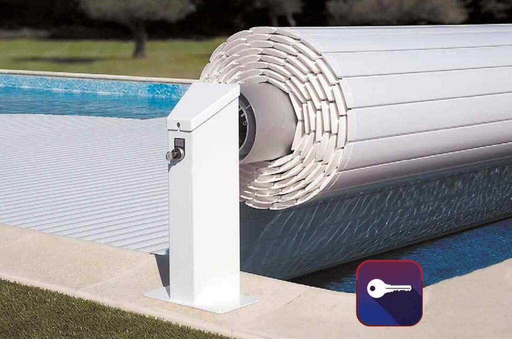 Otomatik Havuz Örtüsü Carlit Eco 3x6 mt