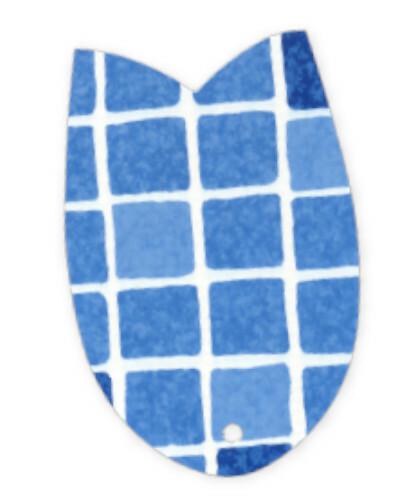 Elbe Havuz Liner Kaplama 1.5 mm Mozaik Mavi