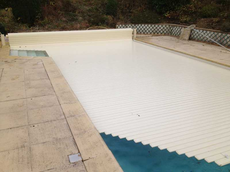 Otomatik Havuz Örtüsü Carlit Eco 4×8 mt