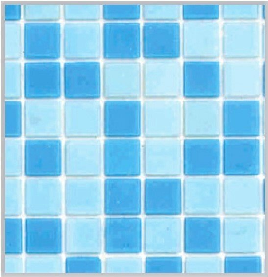 Jamaica Havuz Mozaik Açık Mavi 25x25 mm