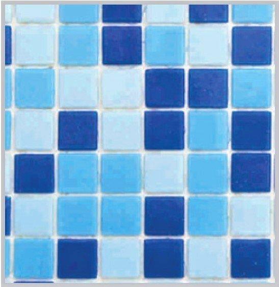 Jamaica Havuz Mozaik Koyu Mavi 25x25 mm