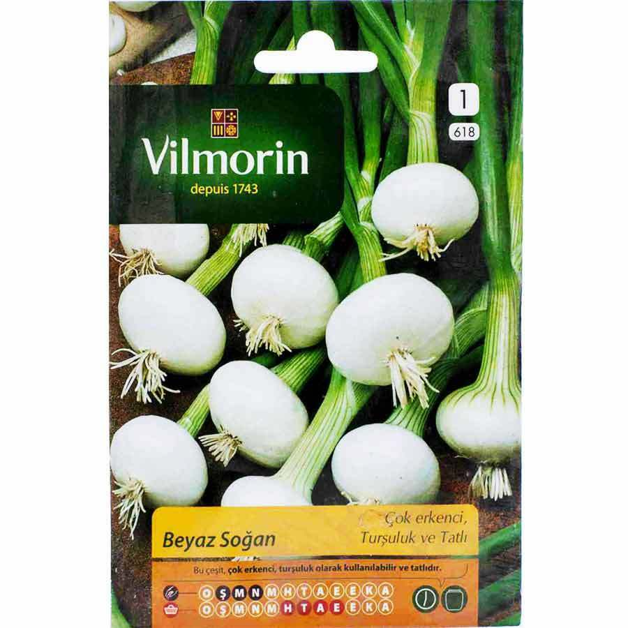 Vilmorin Beyaz Soğan Tohumu