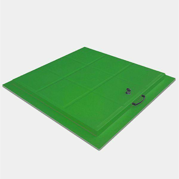 Beton Üzeri Havuz Makine Dairesi Kapağı 60x60 cm