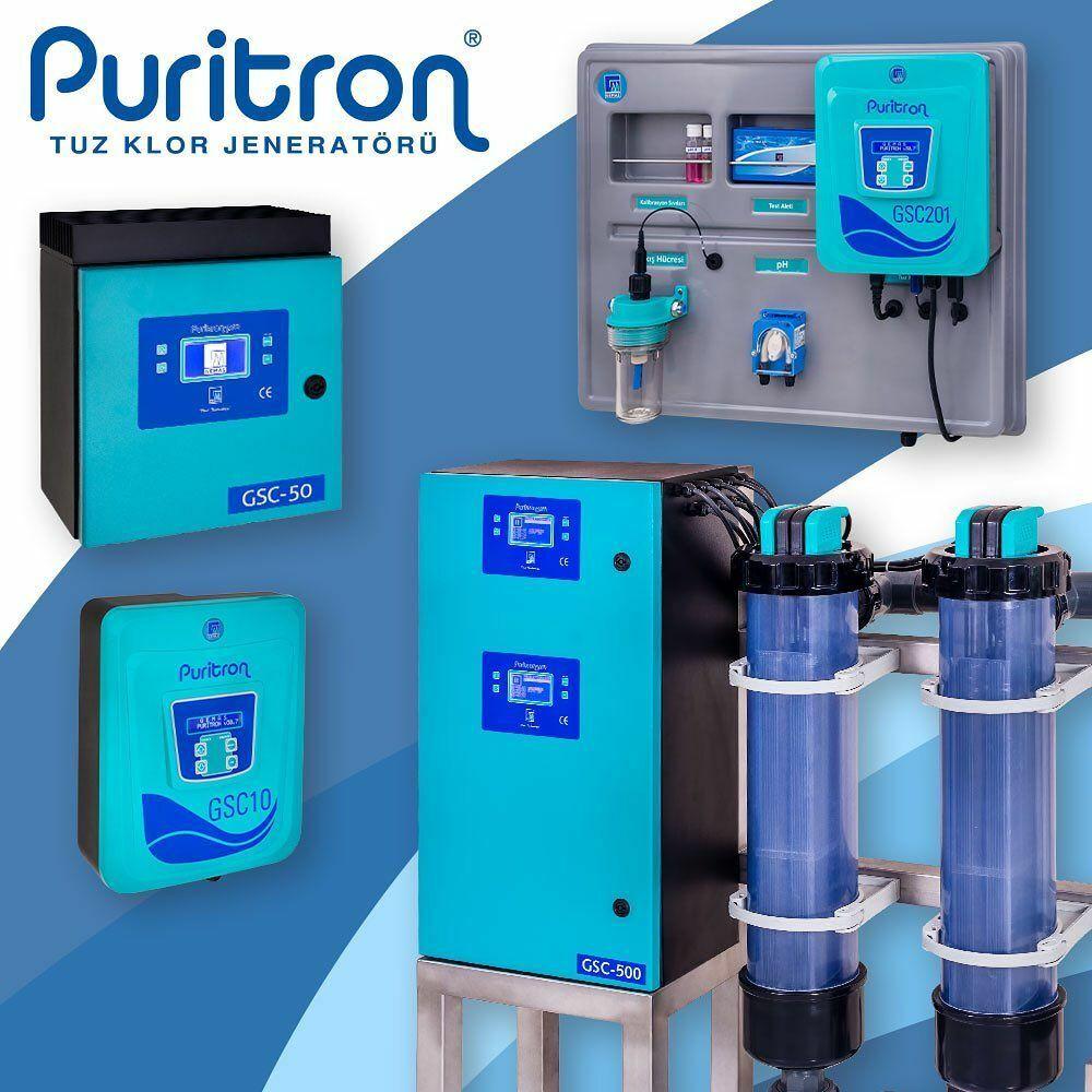 Gemaş Puritron SC101 Ph Kontrollü Tuz Klor Jeneratörü 10 gr