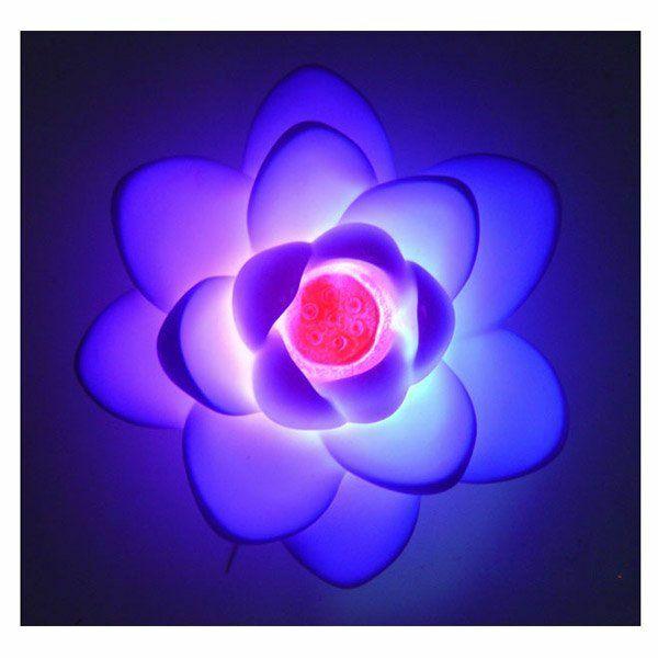 Waterfun Yüzer Çiçekli Işık Ledli