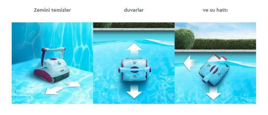 BWT D200 Havuz Robotu