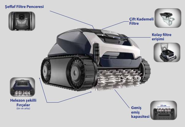 Zodiac Voyager RE 4400 IQ Havuz Robotu