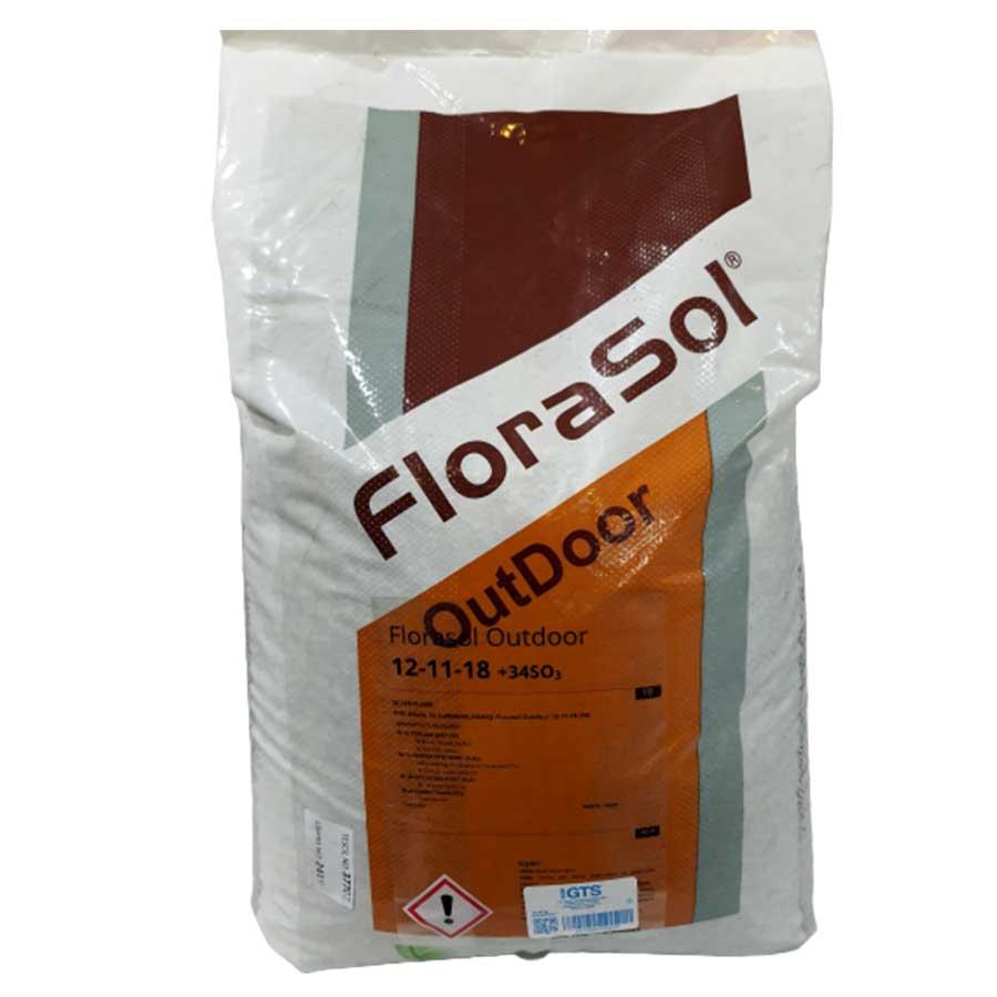 Everris Florasol 12-11-18 Çim Gübresi 25 kg 1