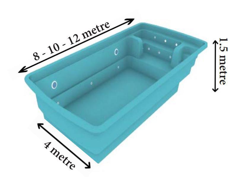 Aquaida Polyester Havuz