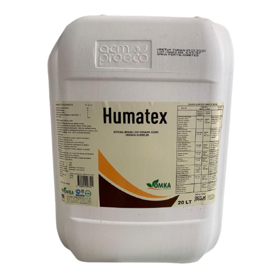 Humatex Sıvı Organik Gübre Humik Asit